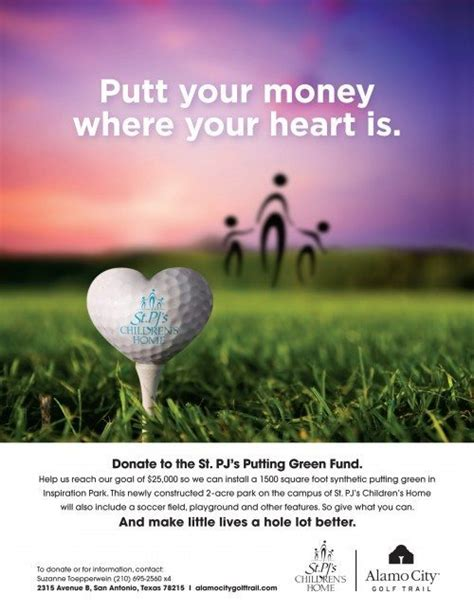 alamo city golf trail donation ad advertising