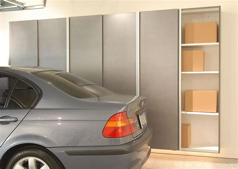 Garage Storage Cabinets With Doors by Garage Sliding Door Cabinets Space Saving Solutions