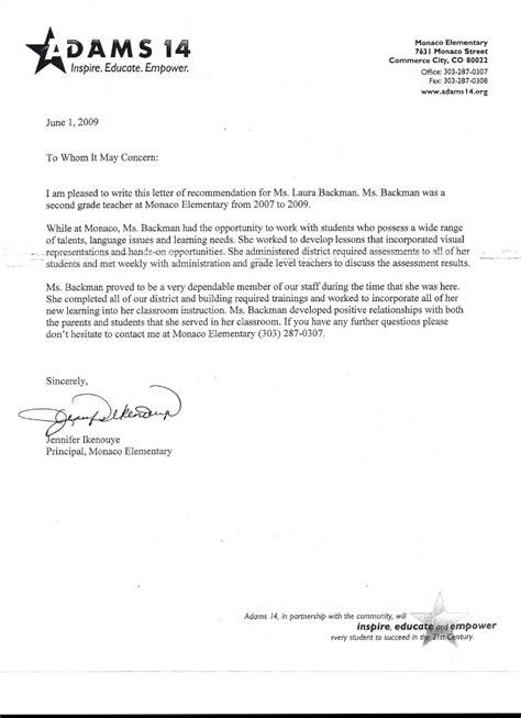 letter  recommendation  principal jennifer ikenouye