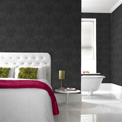 Graham & Brown Jazz Black 52cm X 10m Wallpaper Bunnings