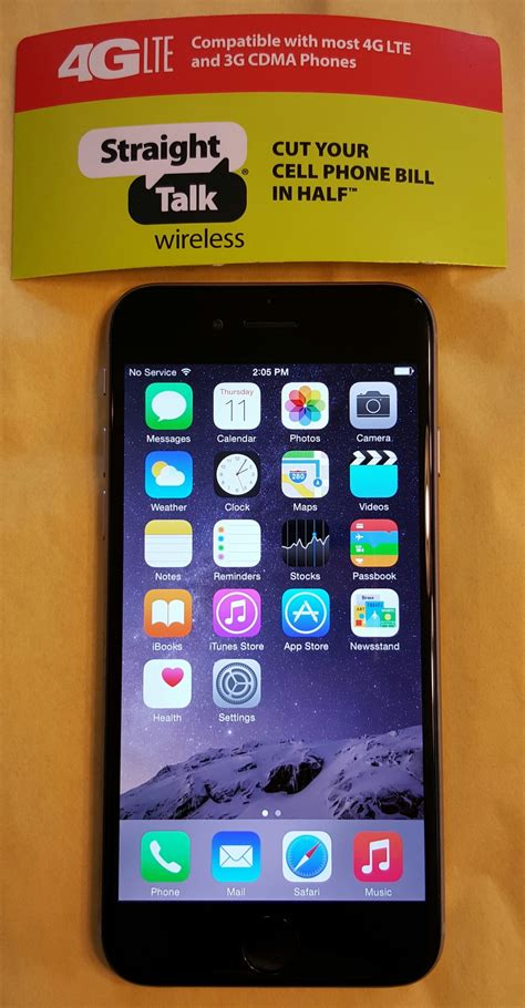talk iphone 6 iphone 6 gray 16gb for staight talk at t 4g lte