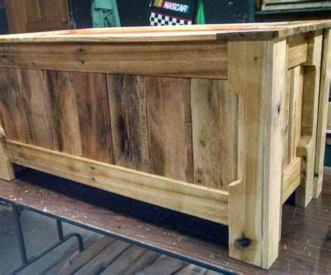 pallet wood toy box toys  year olds  pallet wood