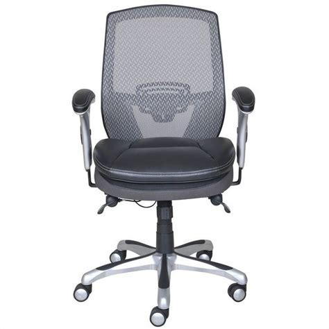 serta executive chair black mesh serta ergonomic mesh back task office chair with leather