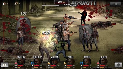 walking dead game  turn    fp zombie