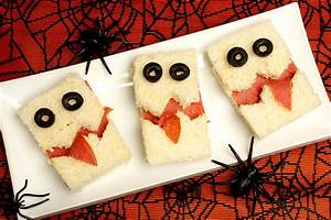 Recette Apéro Halloween : sandwichs monstres pour halloween une recette d 39 ap ritif facile ~ Melissatoandfro.com Idées de Décoration