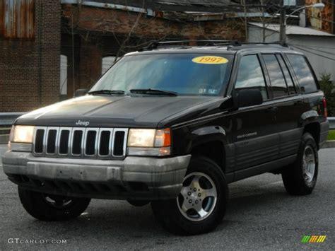 black jeep cherokee 1996 black jeep grand cherokee laredo 4x4 59117493