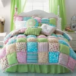 new jcpenney akela puff top twin girl teen comforter set 200 pink aqua lime ebay