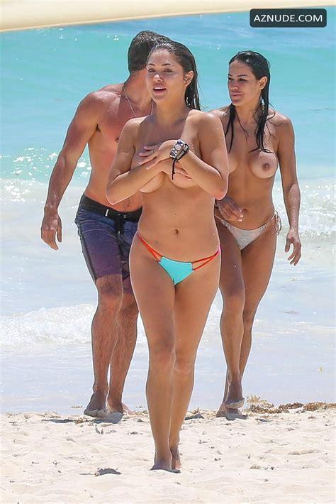 Arianny Celeste Topless From Mexico AZNude