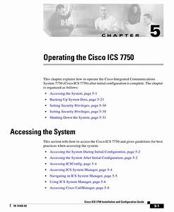 Cisco 7750 Operating Manual Pdf Download