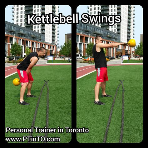 kettlebell swings hiit
