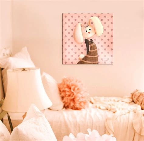 la chambre des couleurs idées déco bébé fille et garçon lapin