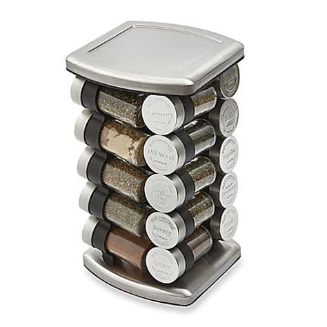 Spice Rack 20 by Buy Olde Thompson 20 Jar Embossed Revolving Spice Rack