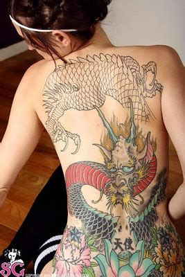foto de japanse tattoos: History of Yakuza Tattoos