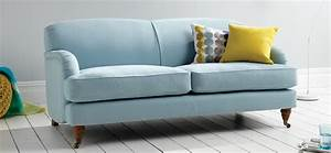 Why stick to neutral colours when the agatha in an awesome for Couch agatha sofa
