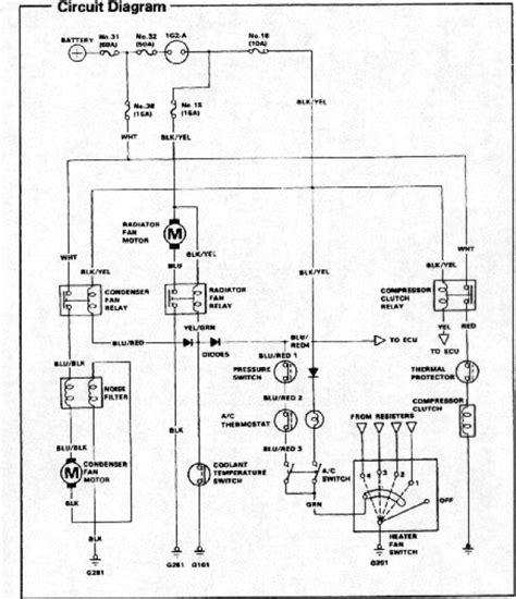 Wiring Diagram Honda Tech