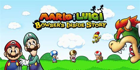 mario luigi bowsers  story nintendo ds games