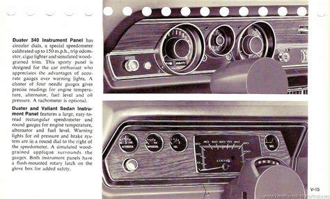 1970 Duster Dash   For A Bodies Only Mopar Forum