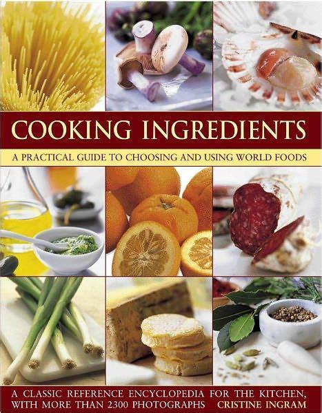 barnes and noble ingram cooking ingredients by christine ingram paperback