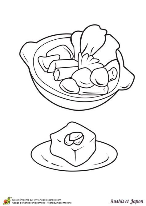 jeux de cuisine japonaise coloriage de cuisine japonaise avec de superbes sushis
