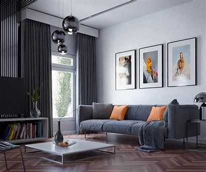 Blender Interior Scene Artstation Producao Pos