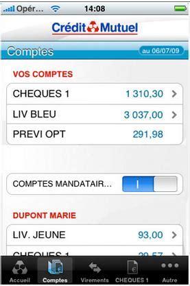 credit mutuel arkea banques en ligne mobile