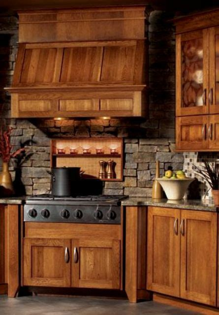 cool stone  rock kitchen backsplashes  wow digsdigs