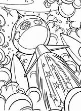 Coloring Space Pages Outer Ship Sheets Printable Adult Colouring Easy Spaceship Disney Bestcoloringpagesforkids Cool Drawing Alien Naruto Planet Drawings Crafts sketch template