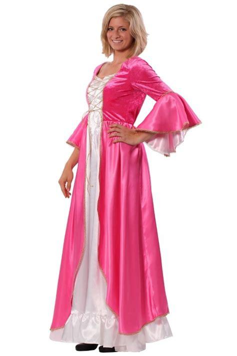 damen kostüm prinzessin barock rokoko kleid pink princess mittelalter m 228 rchen prinzessin kost 252 m damen ebay