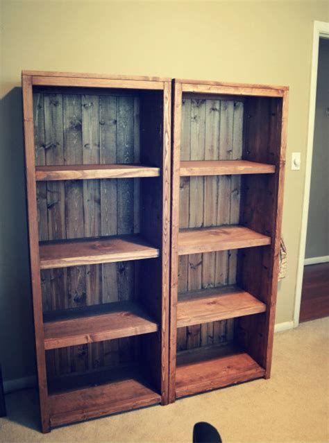 Build Bookcase by White Kentwood Bookcases Diy Projects