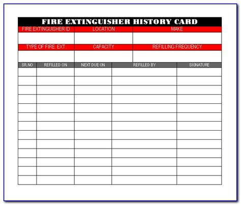 Fire extinguisher on check list. Monthly Fire Extinguisher Inspection Form Pdf - Form : Resume Examples #J3DW1ZxOLp