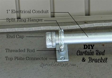 1000 ideas about outdoor curtain rods on