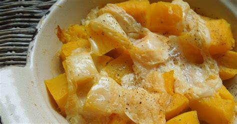 cuisiner butternut gratin dans mon assiette courge butternut gratinée au munster