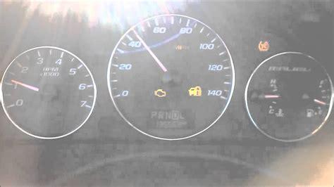 2007 Chevrolet Malibu Dashboard Lights And Gauges Go