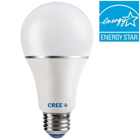 cree 100w equivalent daylight 5000k a21 dimmable led