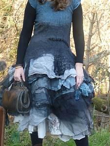 sur commande robe en laine feutree organdi etc With robe d organdi