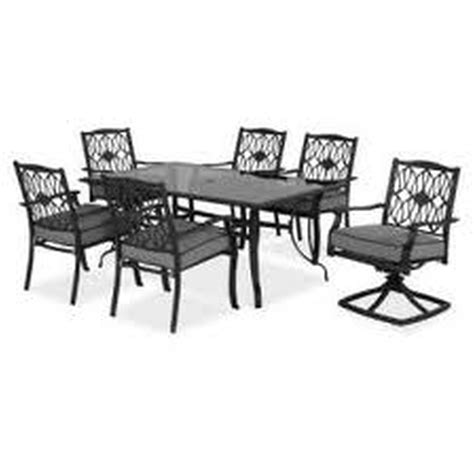 hton bay table l hton bay vichy springs 7 patio high dining set hton bay