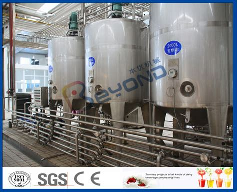 tpd yogurt manufacturing equipment industrial yogurt production yoghurt making machine