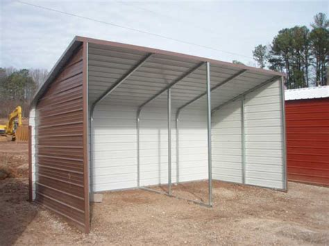 Loafing Shed Kits by How To Build A Metal Loafing Shed Sanglam