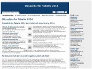 Kindesunterhalt 2016 Berechnen : unterhaltsrechner d sseldorfer tabelle ~ Themetempest.com Abrechnung