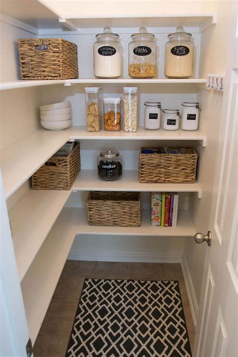 Kitchen Pantry Organization Ideas by Pantry Organization Tips With At Home Stores