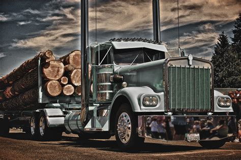 kenworth log truck  colby williams photo  px