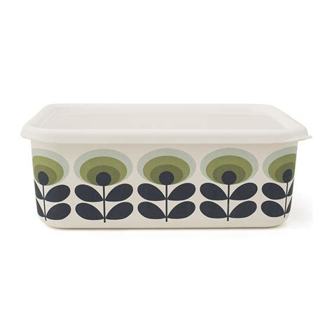 Buy Orla Kiely '70s Flower Container   Extra Large   Green