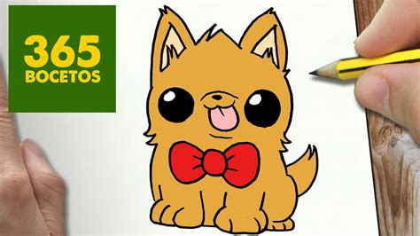 como dibujar perrito kawaii paso a paso dibujos kawaii faciles how to draw a