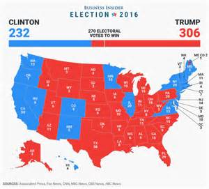 Here's the final 2016 <b>electoral</b> college map - Yahoo Finance Canada