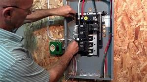 How To Hook Up A Generator To Your Electrical Panel The Proper Way  On