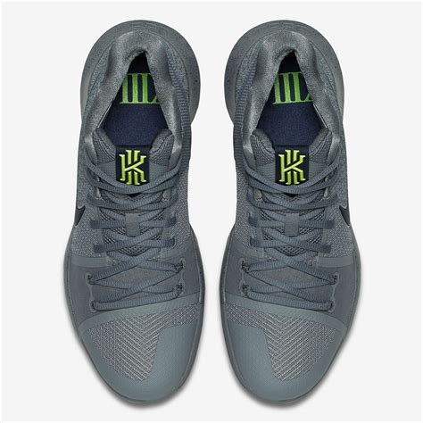 Nike Kyrie 3 Midnight Grey 852395001  Sneakernewscom