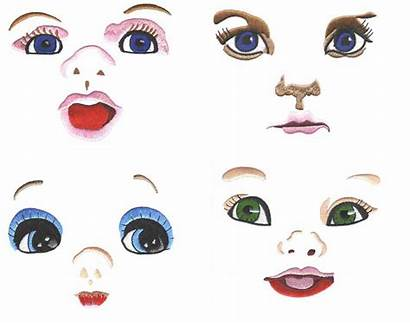 Doll Face Clipart Faces Embroidery Designs Clip