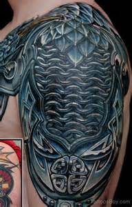 Dragon Shoulder Armor Tattoo
