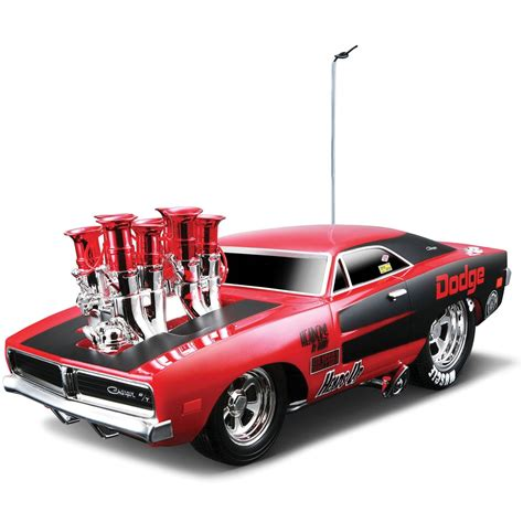 maisto muscle machines  dodge charger rt remote