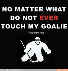 Hockey Goalie Quotes And Sayings. QuotesGram